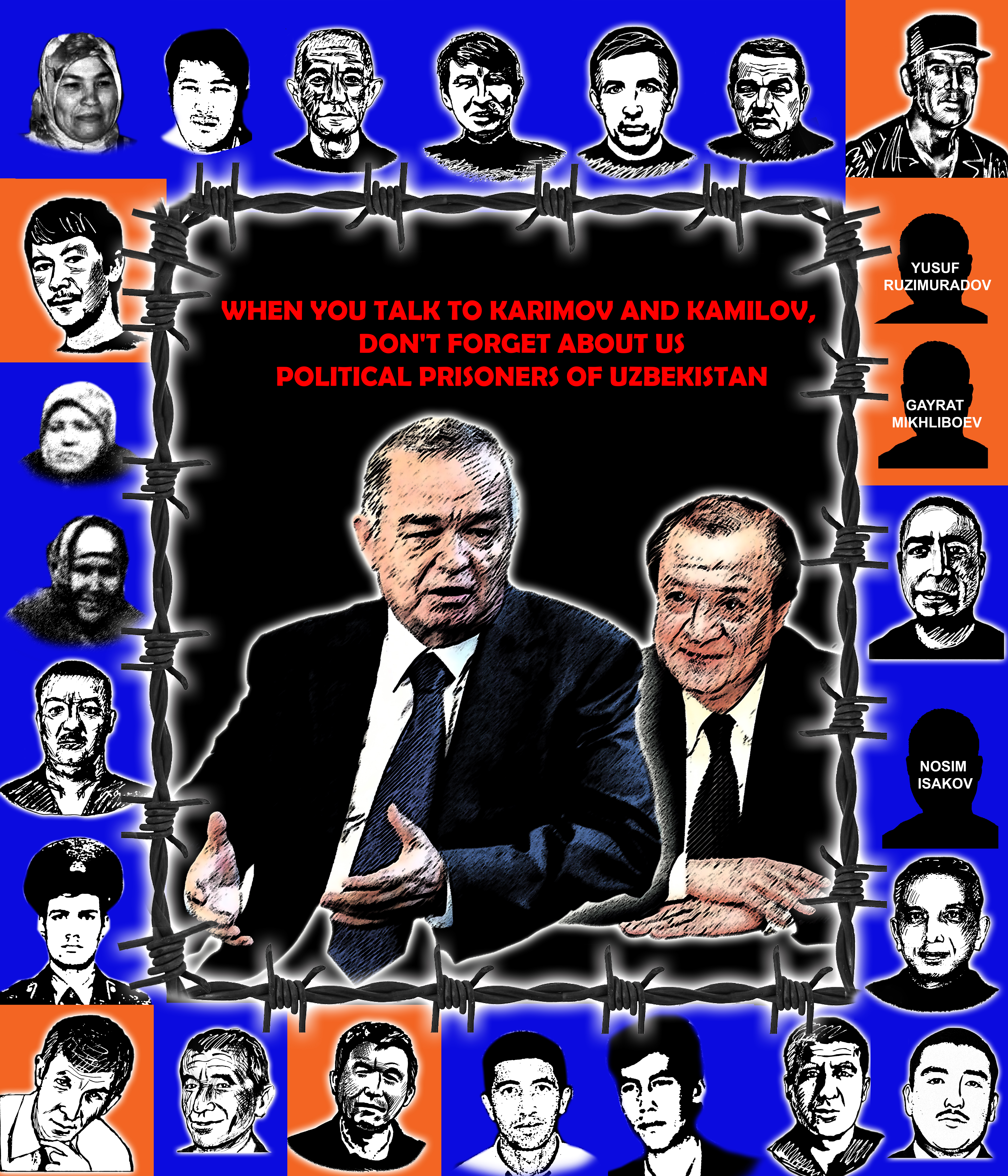 The international community must force the government of Uzbekistan to respect the human rights laws